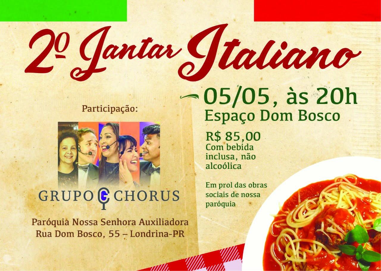 2º Jantar Italiano