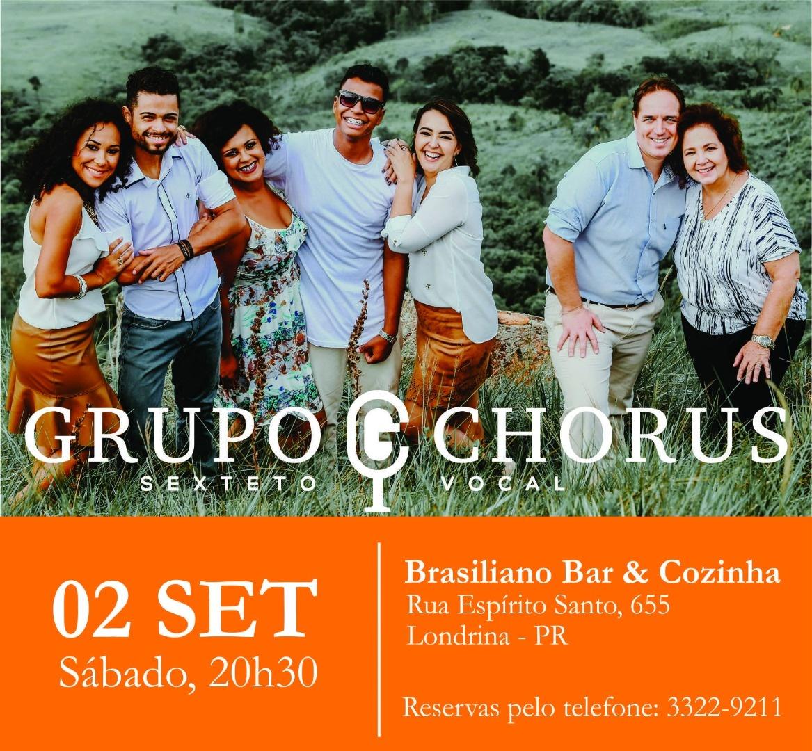 Sábado é dia de Chorus no Brasiliano