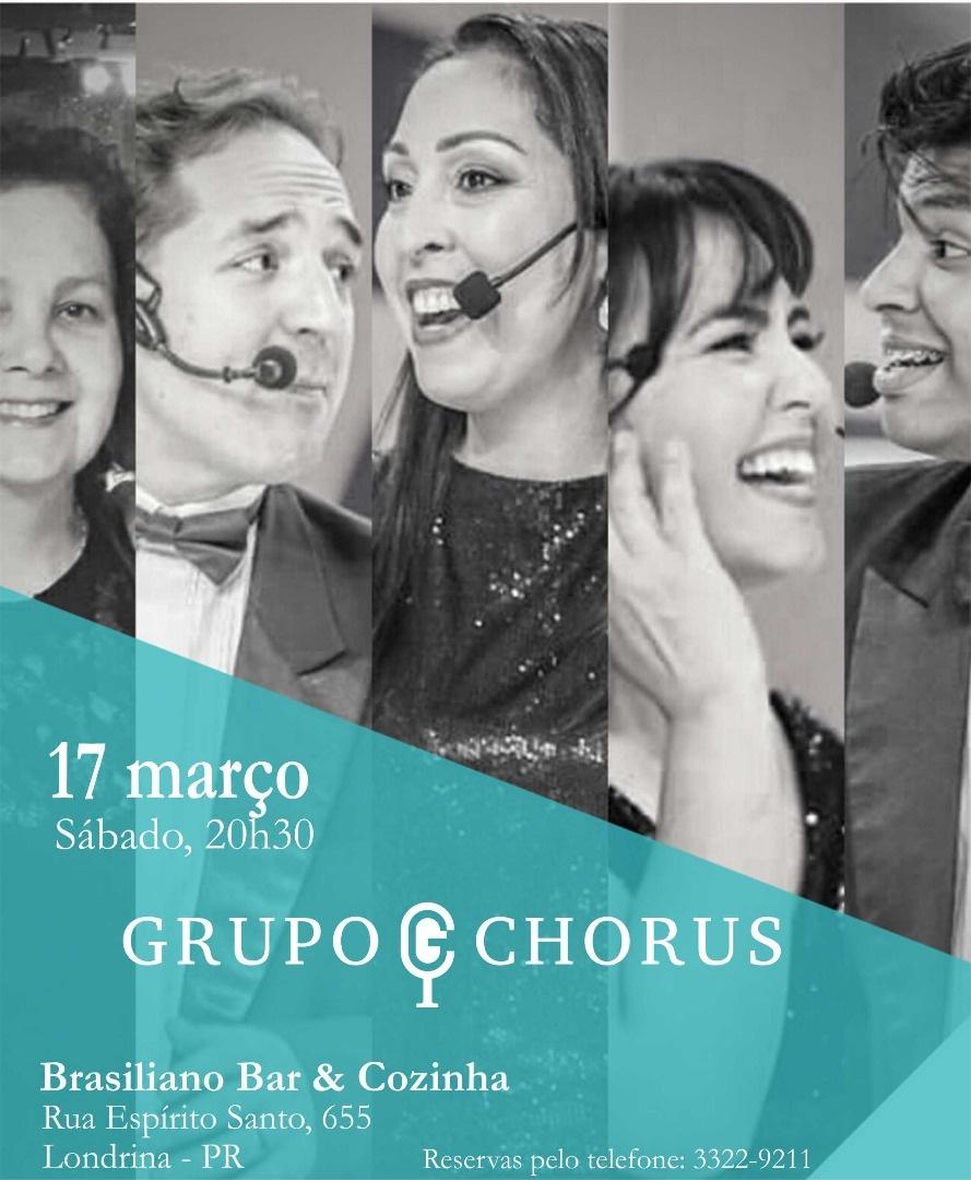Grupo Chorus no Brasiliano