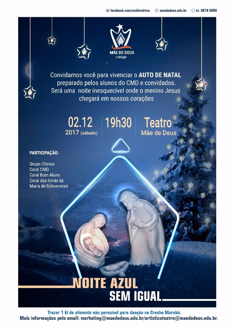 Auto de Natal no Teatro Mãe de Deus